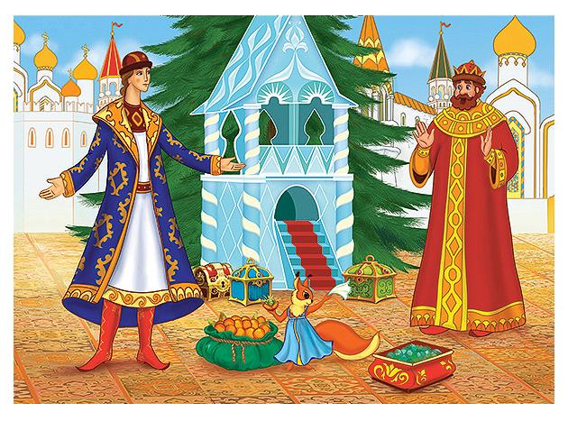 Купить Пазлы B5L-6345 ВС Сказка о царе Салтане , (60 деталей MIDI) Castor Land, Castorland