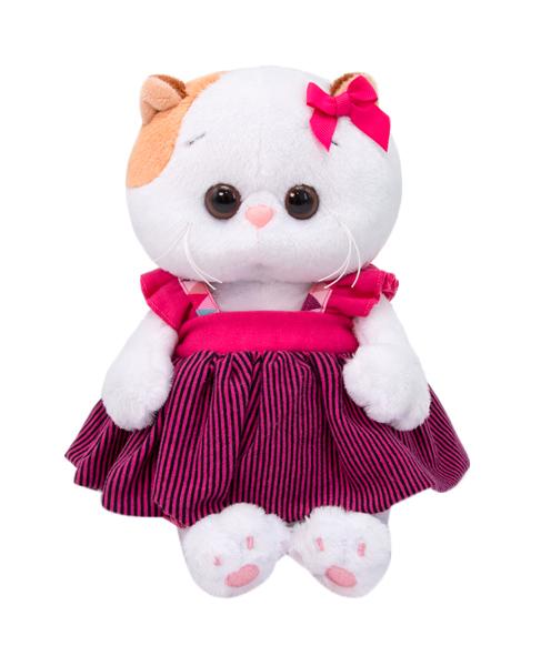 Купить Мягкая игрушка Ли-Ли Baby в сарафане , 20 см LB-034 Басик и Ко, Мягкие игрушки животные
