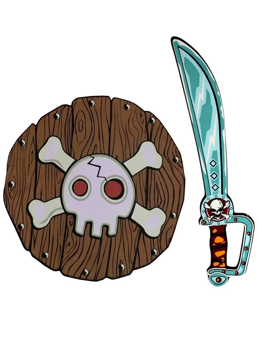 Набор оружия пирата Pixel Crew Черная Метка