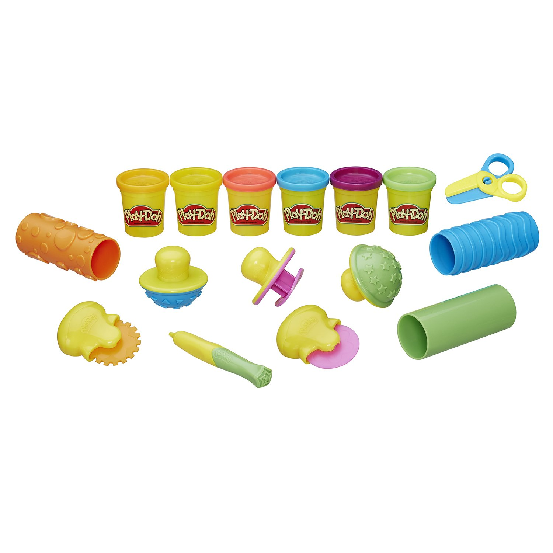 Купить Игровой набор Hasbro Play-Doh Текстуры и Инструменты, Наборы для лепки Play-Doh