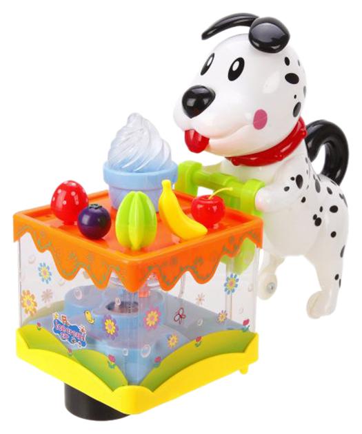 Интерактивная игрушка Наша игрушка Собачка С Тортом Арт. 3039A фото