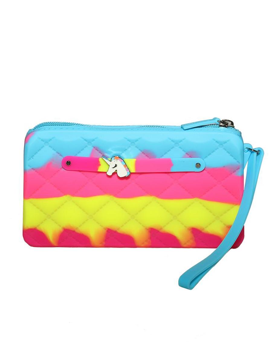 Купить Сумка детская Gummy Bags Клатч + Подвеска Единорог, цв. Unicorn,