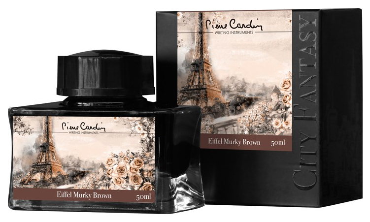 Чернила Pierre Cardin City Fantasy Eiffel Murky Brown 50 мл