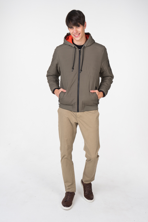 Куртка мужская Reebok D78645 серая 42 UK