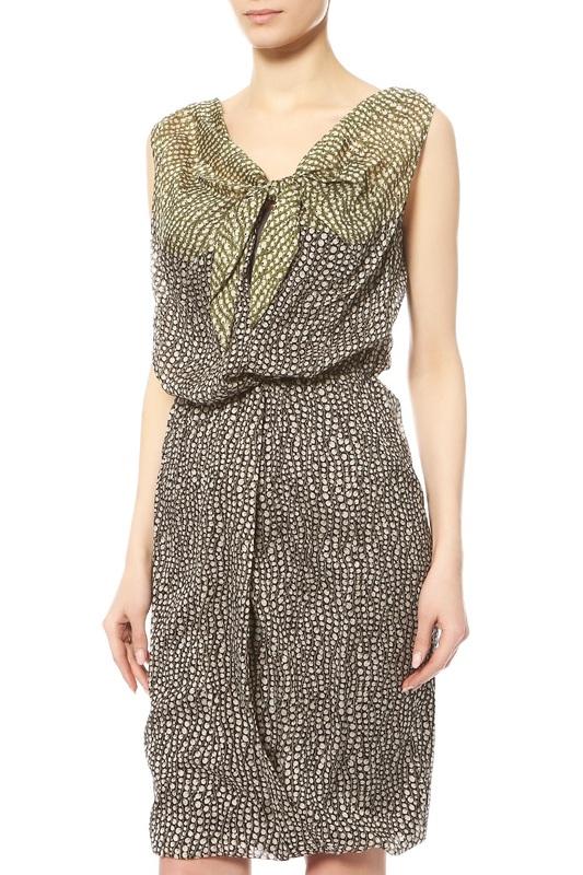 Платье женское Max Mara 12210991 зеленое 40 IT фото