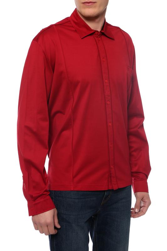 Рубашка мужская Torras A28412 красная 2XL
