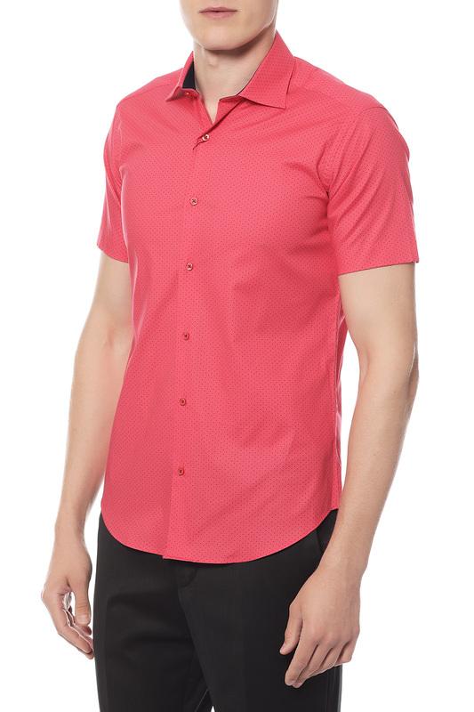 Сорочка мужская Van Cliff 14829 красная XS