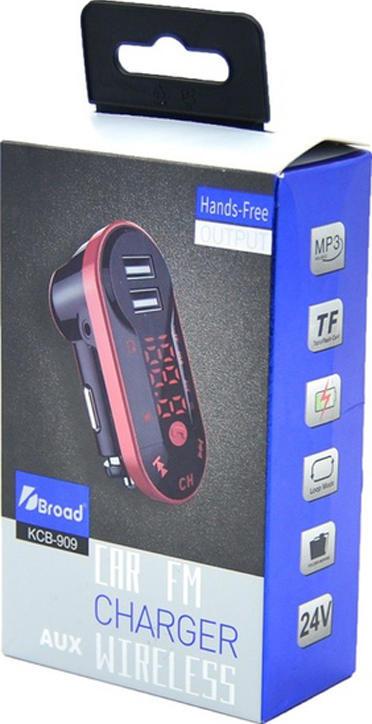 Автомобильный FM модулятор с встроенным модулем Bluetooth