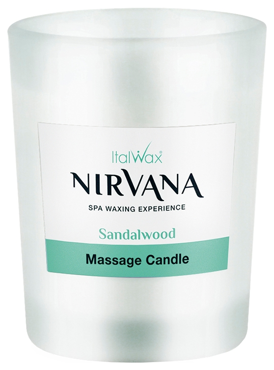 Свеча масло после депиляции Italwax Nirvana Sandalwood