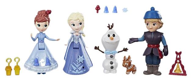 Купить Холодное сердце герои, Игровой набор Hasbro Disney Princess C1921 Холодное Сердце, Игровые наборы