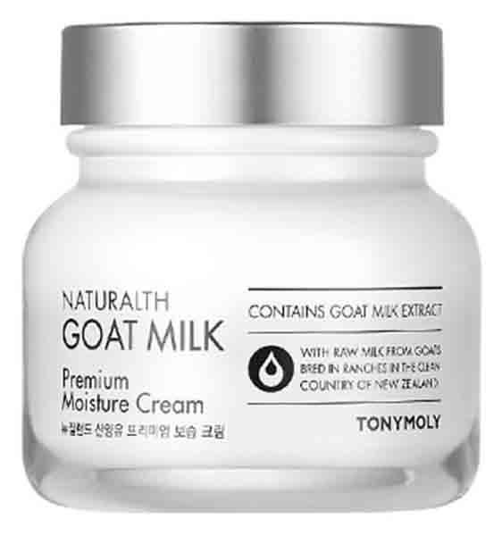 Крем для лица Tony Moly Naturalth Goat Milk