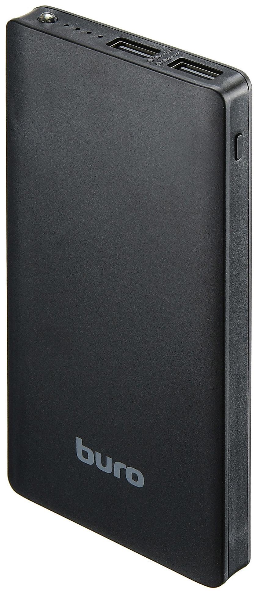 Внешний аккумулятор BURO RCL-10000-BK 10000 мА/ч Black