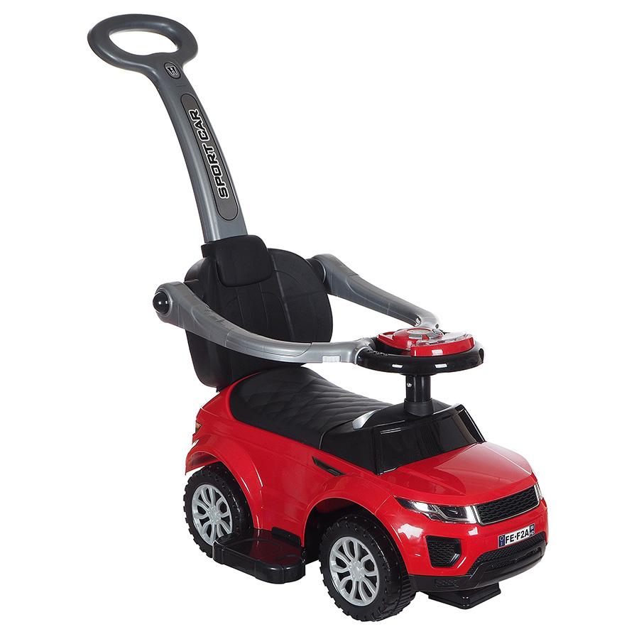 Купить Средняя, Машина-каталка Tommy ROC 107 красный, Каталки детские