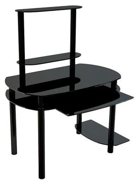 Компьютерный стол АКМА NOIR 02, серебристый