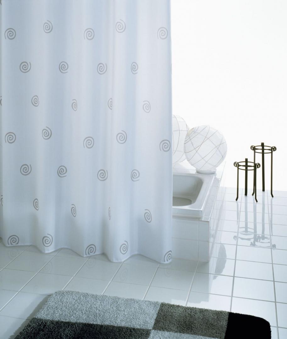 Штора для ванных комнат Univers белый 180*200