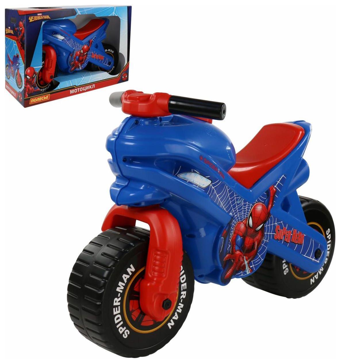 Детский транспорт, Мотоцикл Coloma Y Pastor Marvel Человек паук,  - купить со скидкой