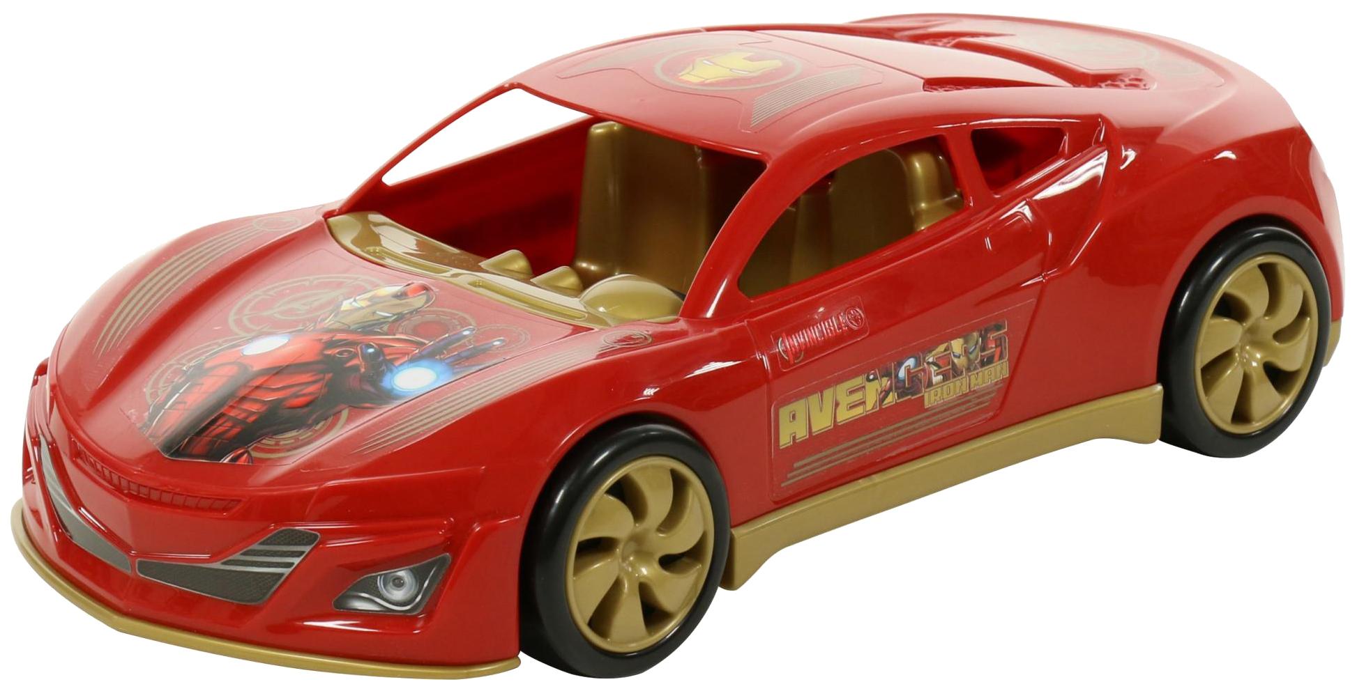 Купить Игрушки, Автомобиль Полесье Marvel Мстители Железный Человек, Игрушечные машинки