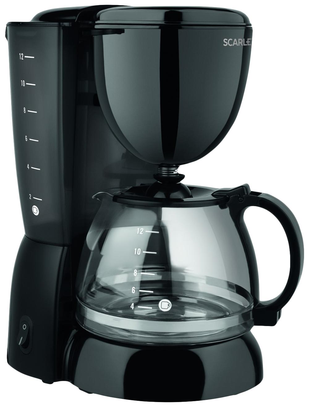 Кофеварка капельного типа Scarlett SC CM33007 Black