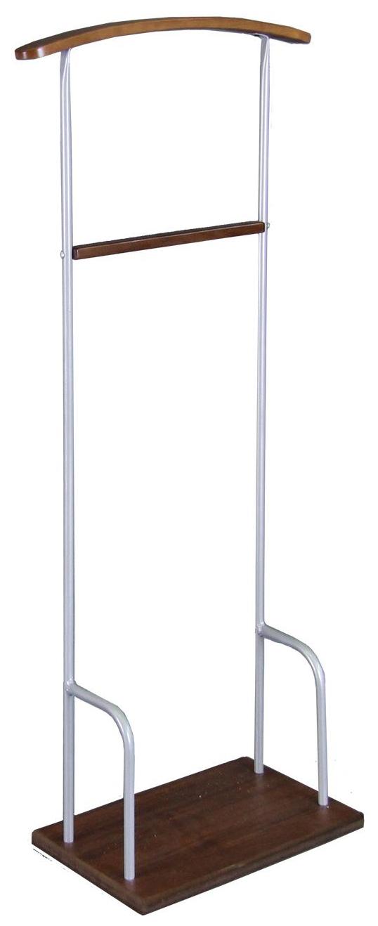 Вешалка напольная Мебелик Верис 1 Металлик/Средне коричневый