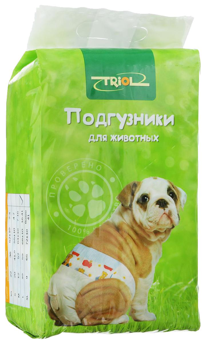 Подгузники для домашних животных Triol размер L 10 шт