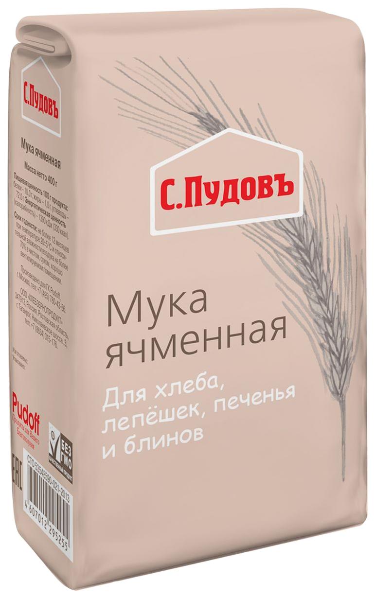 Мука ячменная С.Пудовъ 400 г