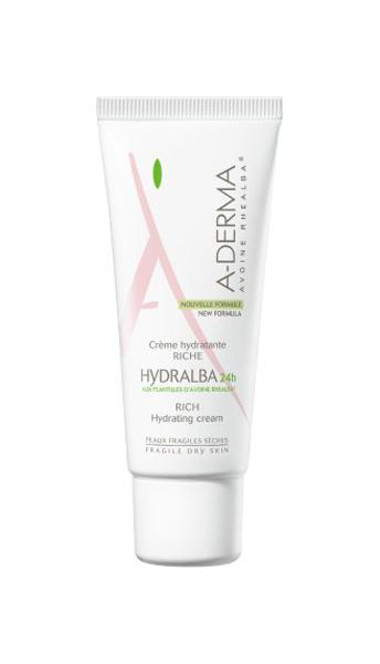 Купить Крем для лица A-Derma Hydralba 24-hour Rich Hydrating Cream 40 мл