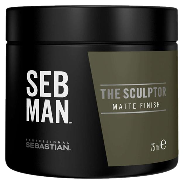 Глина для укладки SebMan The Sculptor с матирующим эффектом 75 мл
