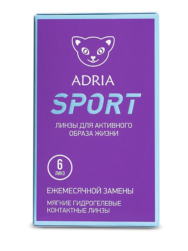 Контактные линзы ADRIA SPORT 6 линз +3,50 фото