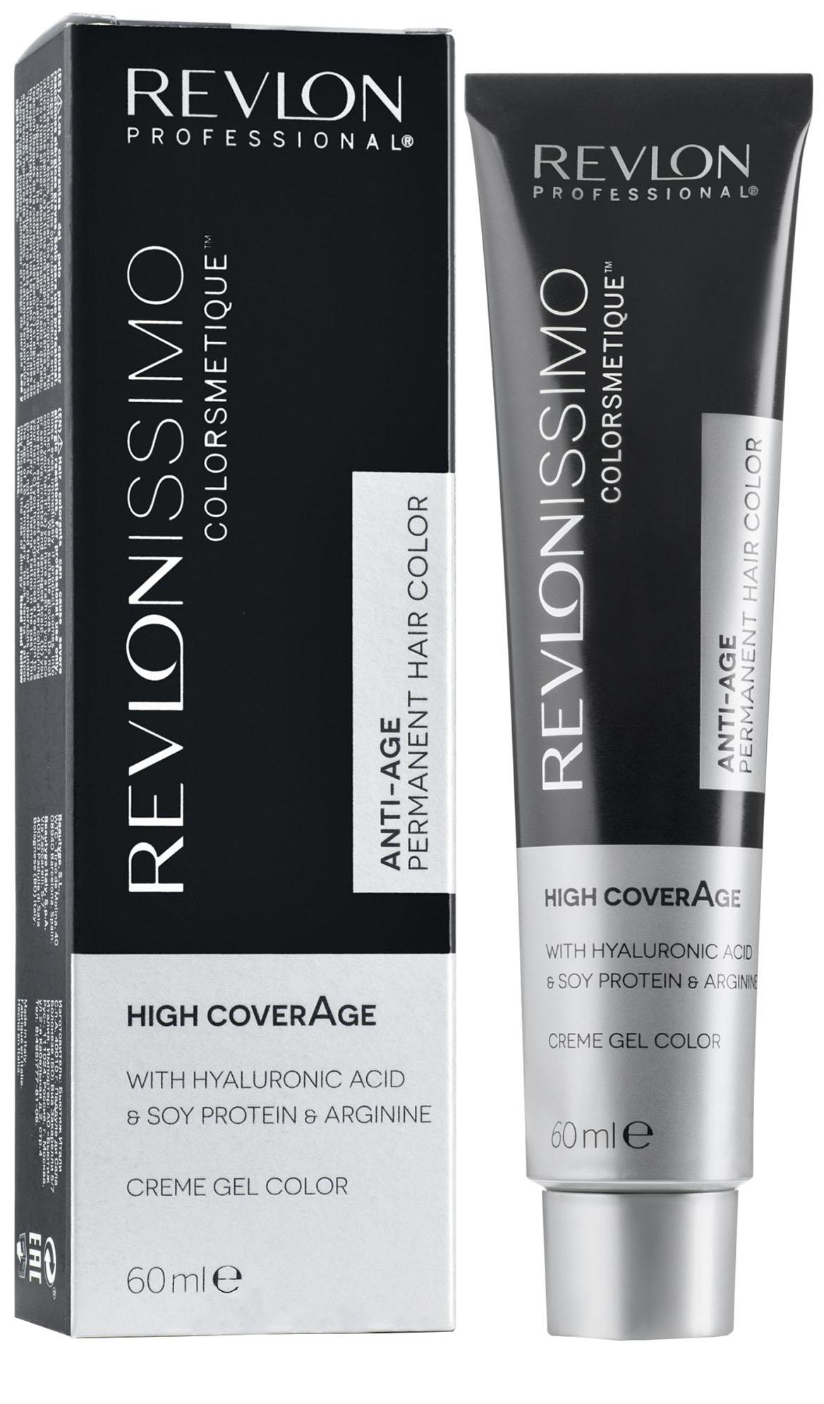 Краска для волос Revlonissimo Colorsmetique High Coverage 7-35 Янтарный блондин, 60мл