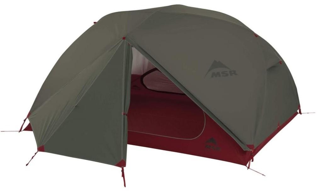 Палатка MSR Elixir зеленая трехместная