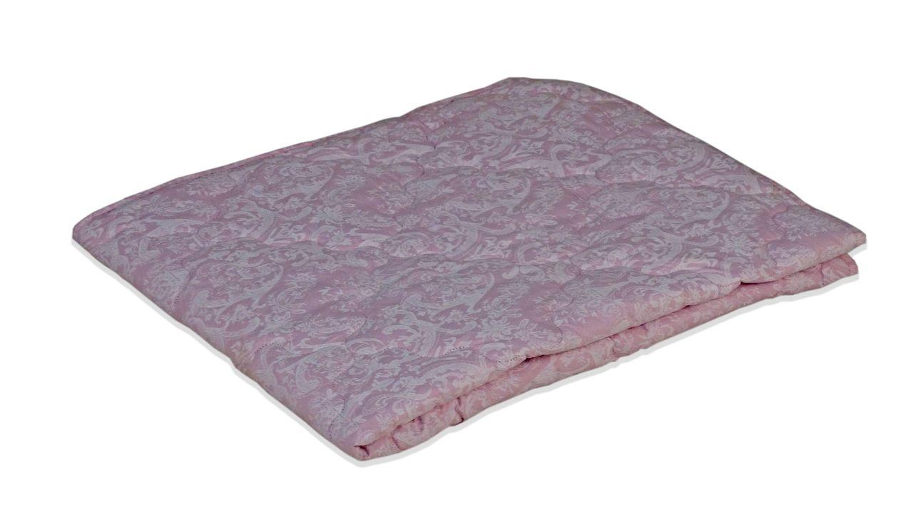 Одеяло облегченное МИ розовое с белым