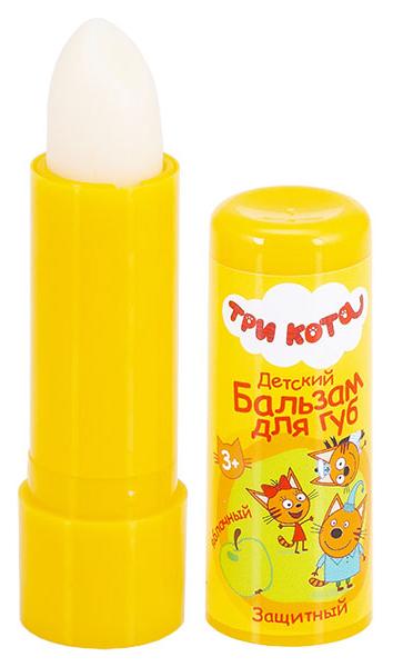 Купить Детский бальзам для губ Три Кота Gk-113/3 Яблочный с оливковым маслом, Три кота, Детские бальзамы для губ