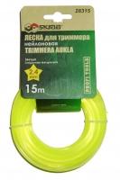Леска для триммера Skrab 2,4 мм/15 м 28315