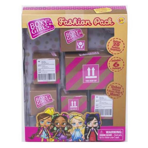 Купить Boxy Girls набор из 6-ти коробочек с аксессуарами, 1 TOY, Обувь для кукол