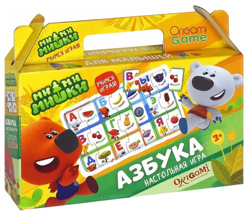 Купить Дидактическая игра Origami МиМиМишки Азбука 03526,