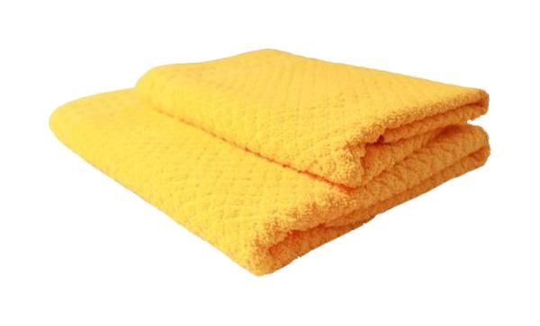 Банное полотенце, полотенце универсальное Belezza желтый