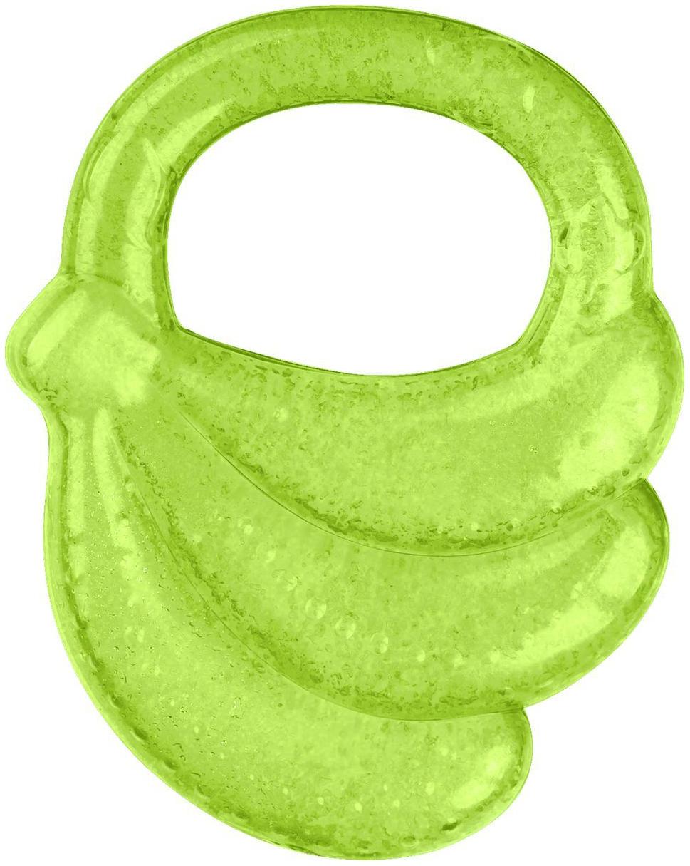 Купить Прорезыватель детский Babyono гелевый для зубов банан, Прорезыватели