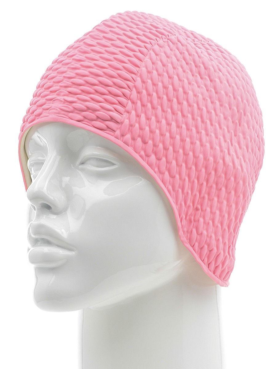 Шапочка для плавания Larsen Бабл-кап pink фото