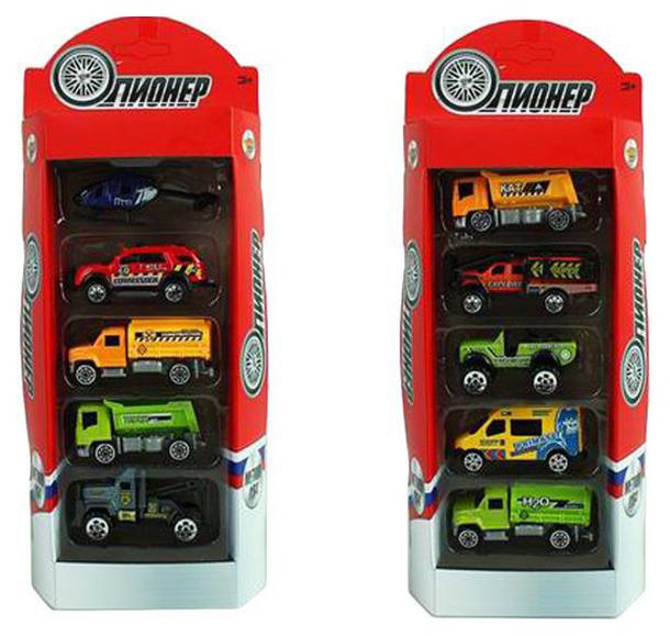 Купить Набор из 5 металлических машинок Мой город Shantou Gepai m7236-3, Наборы игрушечного транспорта