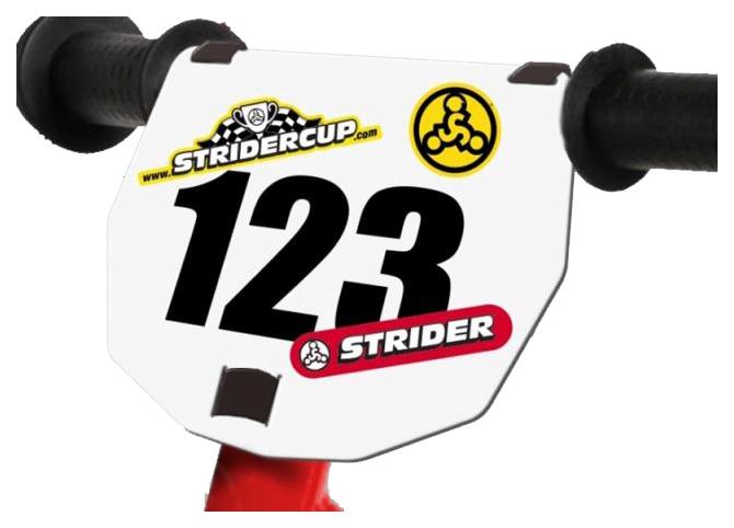 Купить Номер на руль Strider Number Plate, Аксессуары для детских самокатов