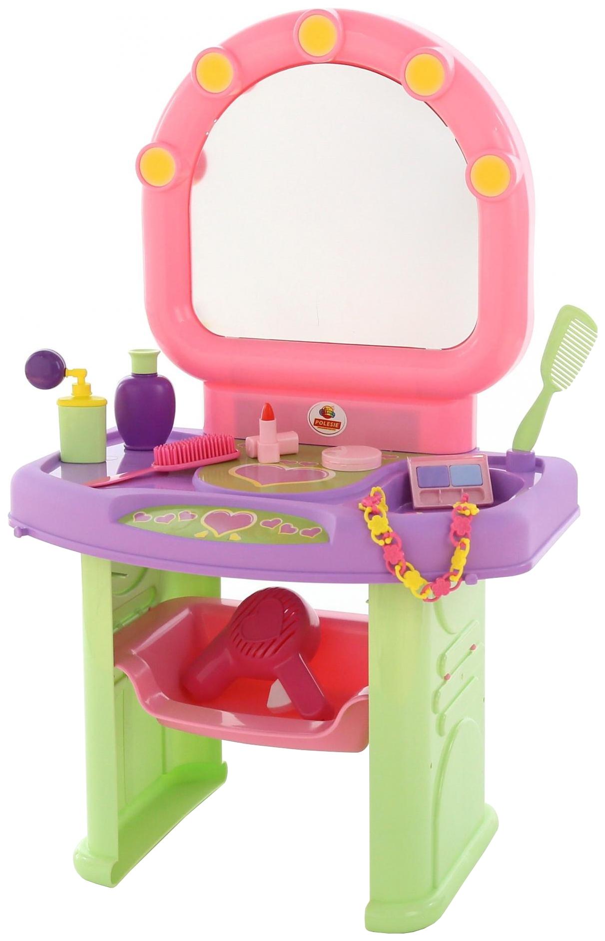 Купить Туалетные столики, Туалетный столик игрушечный Полесье Салон красоты, Coloma, Игрушечные туалетные столики