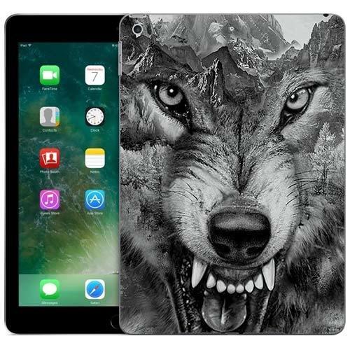 Чехол Gosso Cases для Apple iPad 9.7 (2017) «Волк в горах»