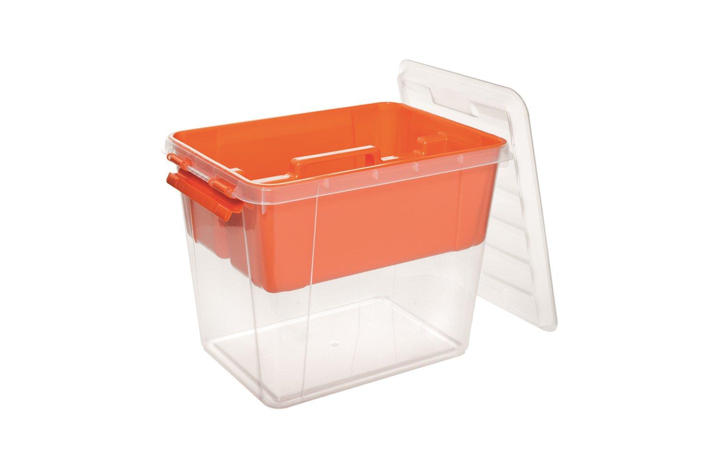Ящик для хранения Полимербыт ПРОФИ 25л с вкладышем