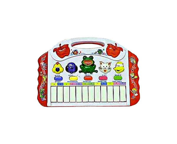 Электросинтезатор игрушечный Shenzhen Toys Звуки зоопарка НК1030 фото