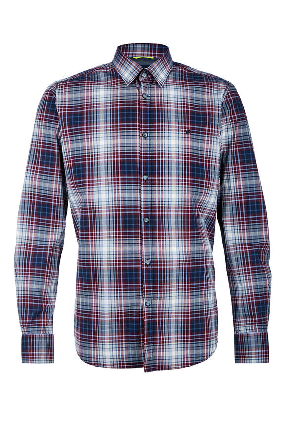 Рубашка Мужская LERROS красная 46