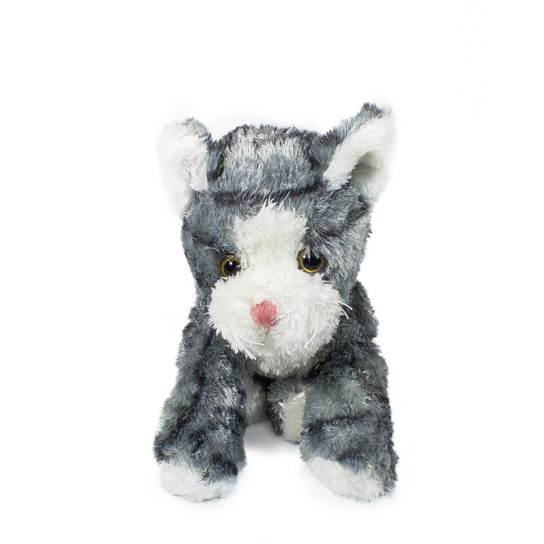 Купить Мягкая игрушка Teddykompaniet котенок, серый, 23 см, 1778, Мягкие игрушки животные