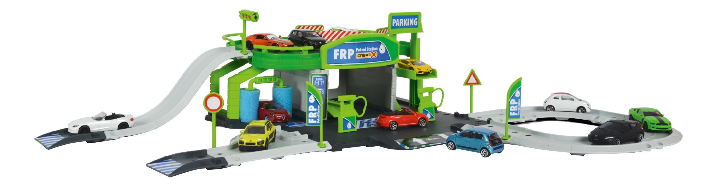 Купить Заправочная станция Creatix, Заправочная станция Majorette Creatix + 1 авто,