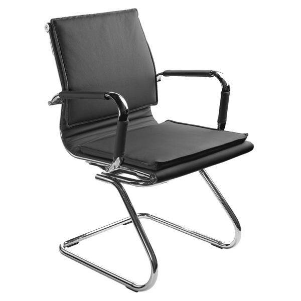Офисный стул Бюрократ CH-993-LOW-V, черный