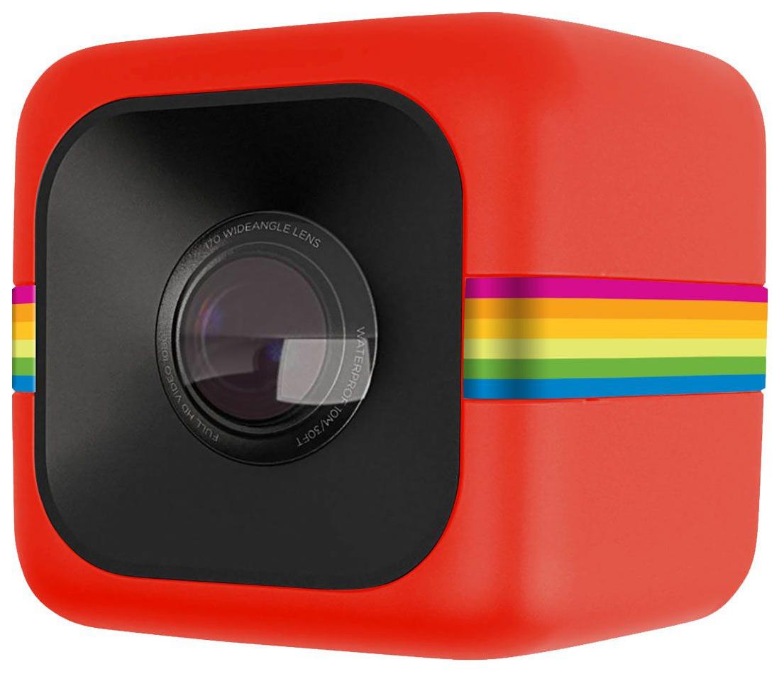 Экшн камера Polaroid Cube Red