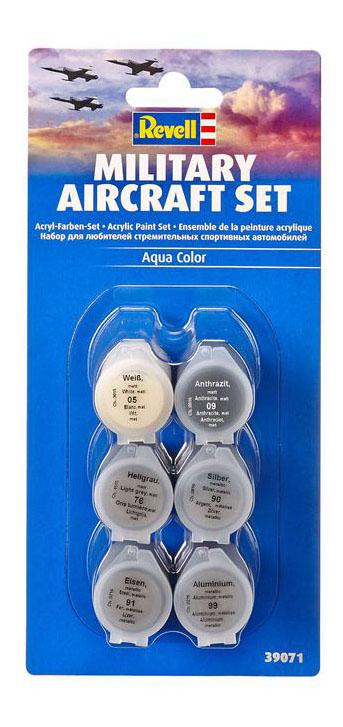 Набор акриловых красок для моделизма, авиация